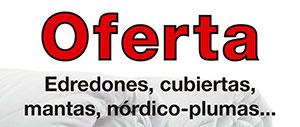 Oferta Edredones, Mantas...